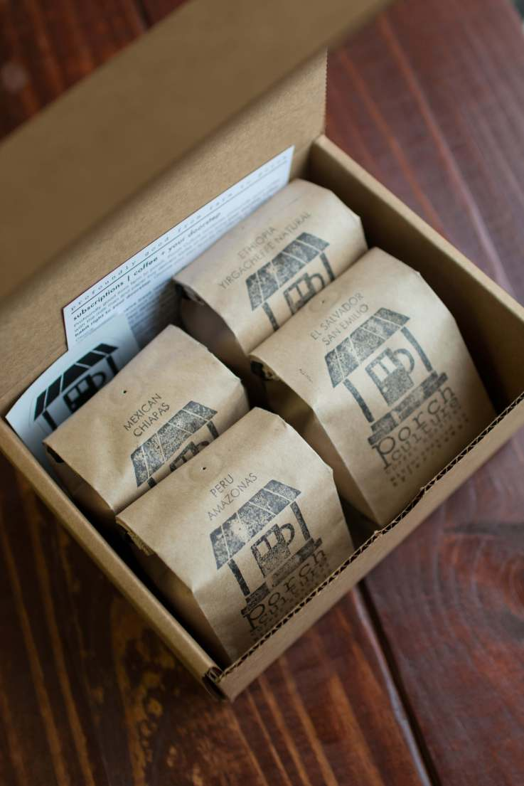 Porch Culture Craft Coffee Single Origin Sample Pack