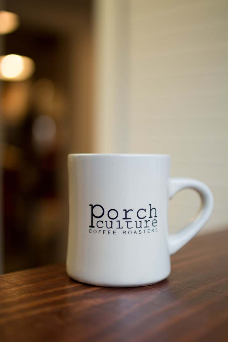 Porch Culture Diner Coffee Mug